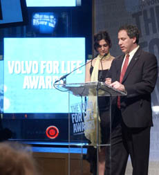 Jay & Liz at Volvo for Life Awards