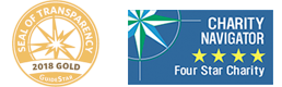 Charity Navigator and GuideStar logos