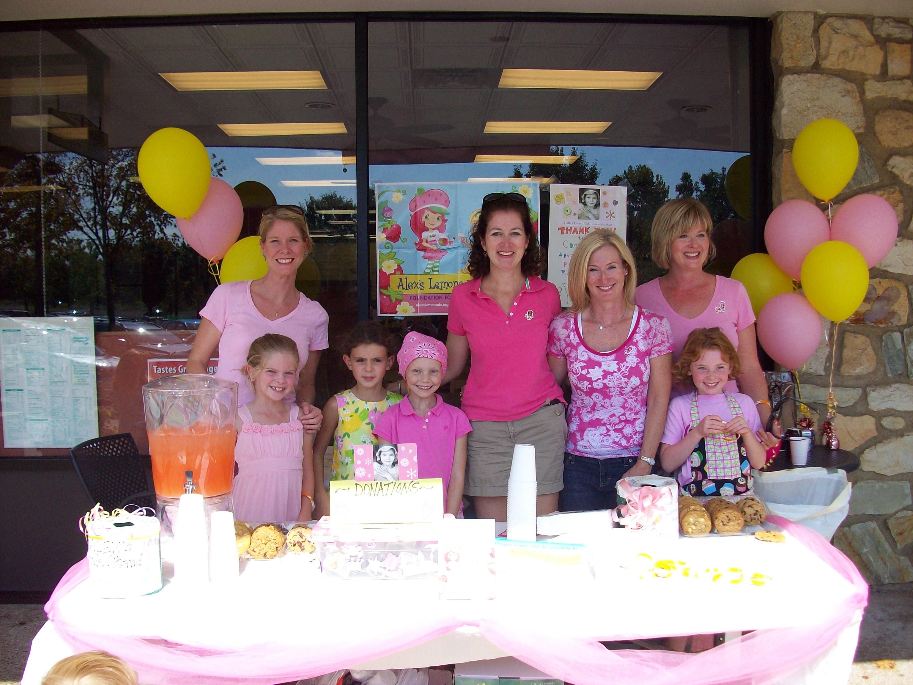 Halle's Lovely Pink for Alex's Lemonade Stand TEAM | Alex's