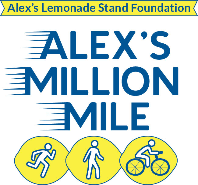 Raise $1 million for childhood cancer research during Alex's Million Mile and Childhood Cancer Awareness Month in December