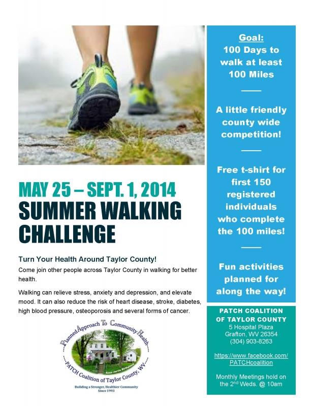 summer walking challenge