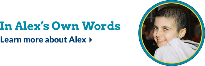 In Alex's Own Words: Learn more about Alex
