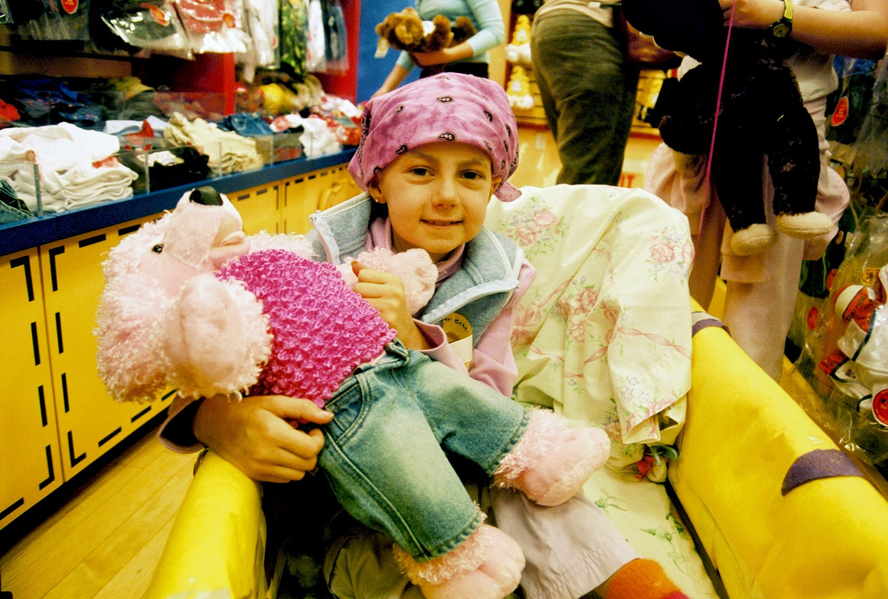 Alex at Build a Bear