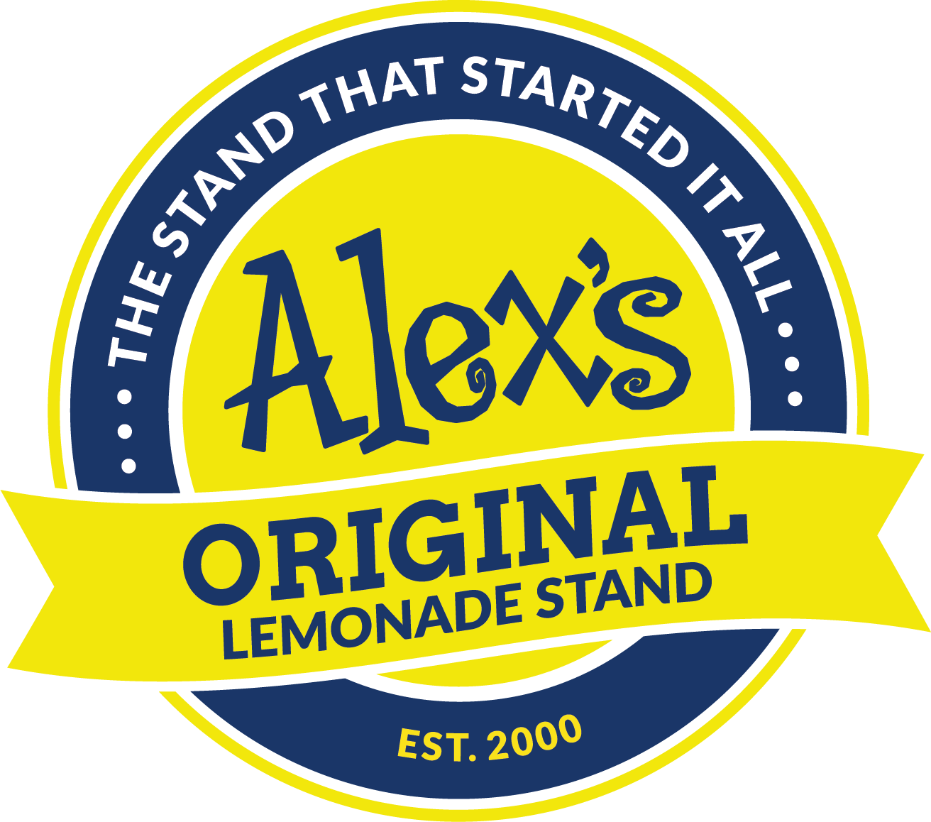 Alex's Original Lemonade Stand Logo