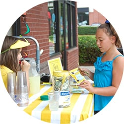 ALSF Lemonade Stand Hosts