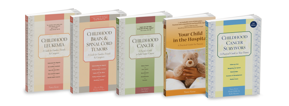 Childhood Cancer Guides - Covers