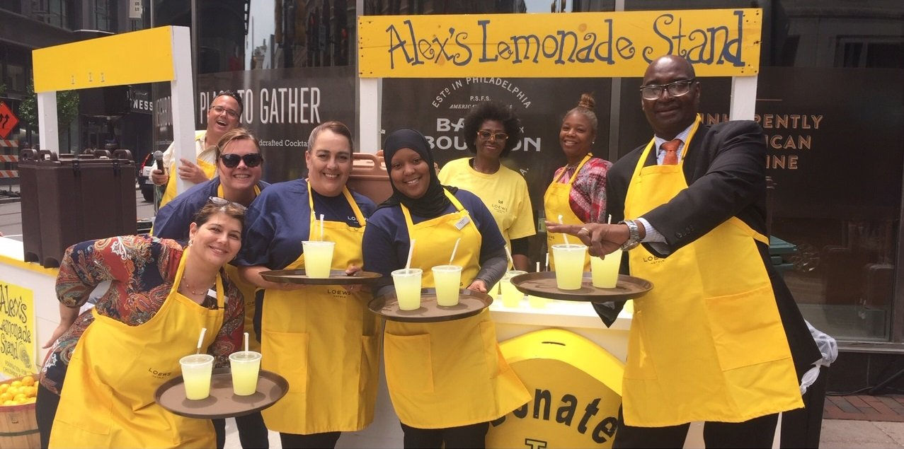 host a lemonade stand at your business