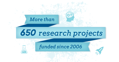 ALSF funded projects graphic