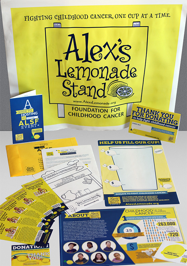 Alex's Lemonade Days 6/12 – 6/14 – Free Lemonade Stand Kit