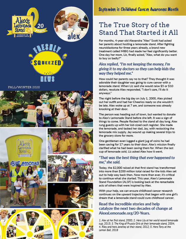 ALSF Fall 2020 Newsletter Page 1