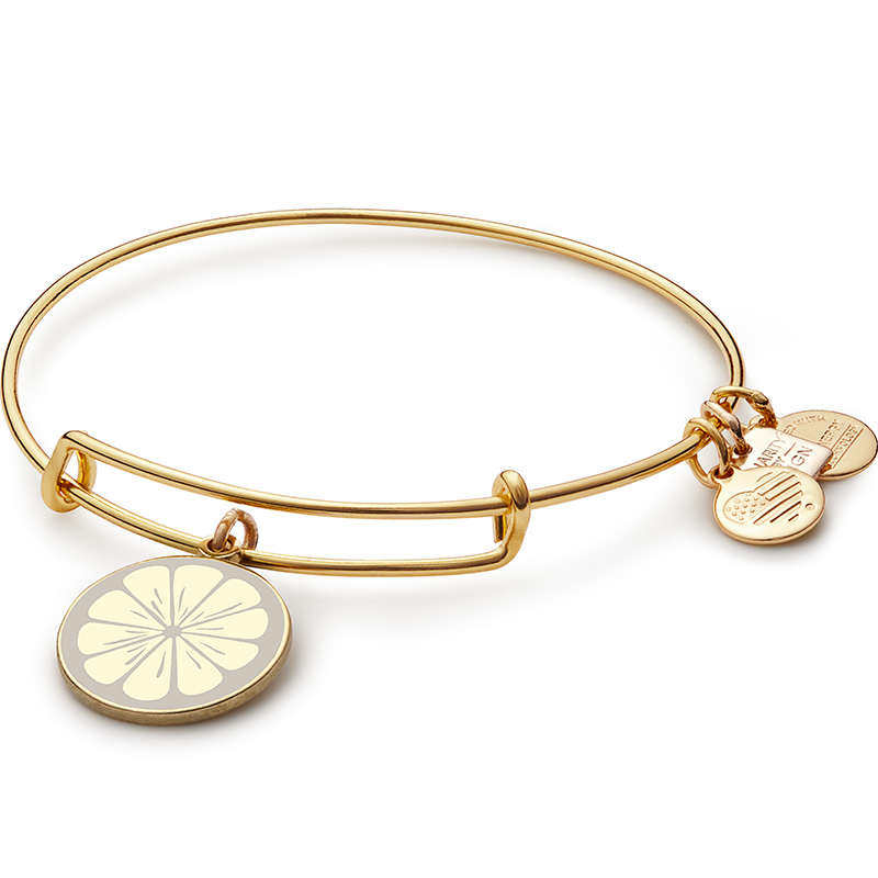 ALEX AND ANI - Charity by Design Zest For Life Charm Bangle