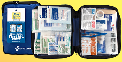 First Aid Only x ALSF Home & Go 149 Piece First Aid Kit