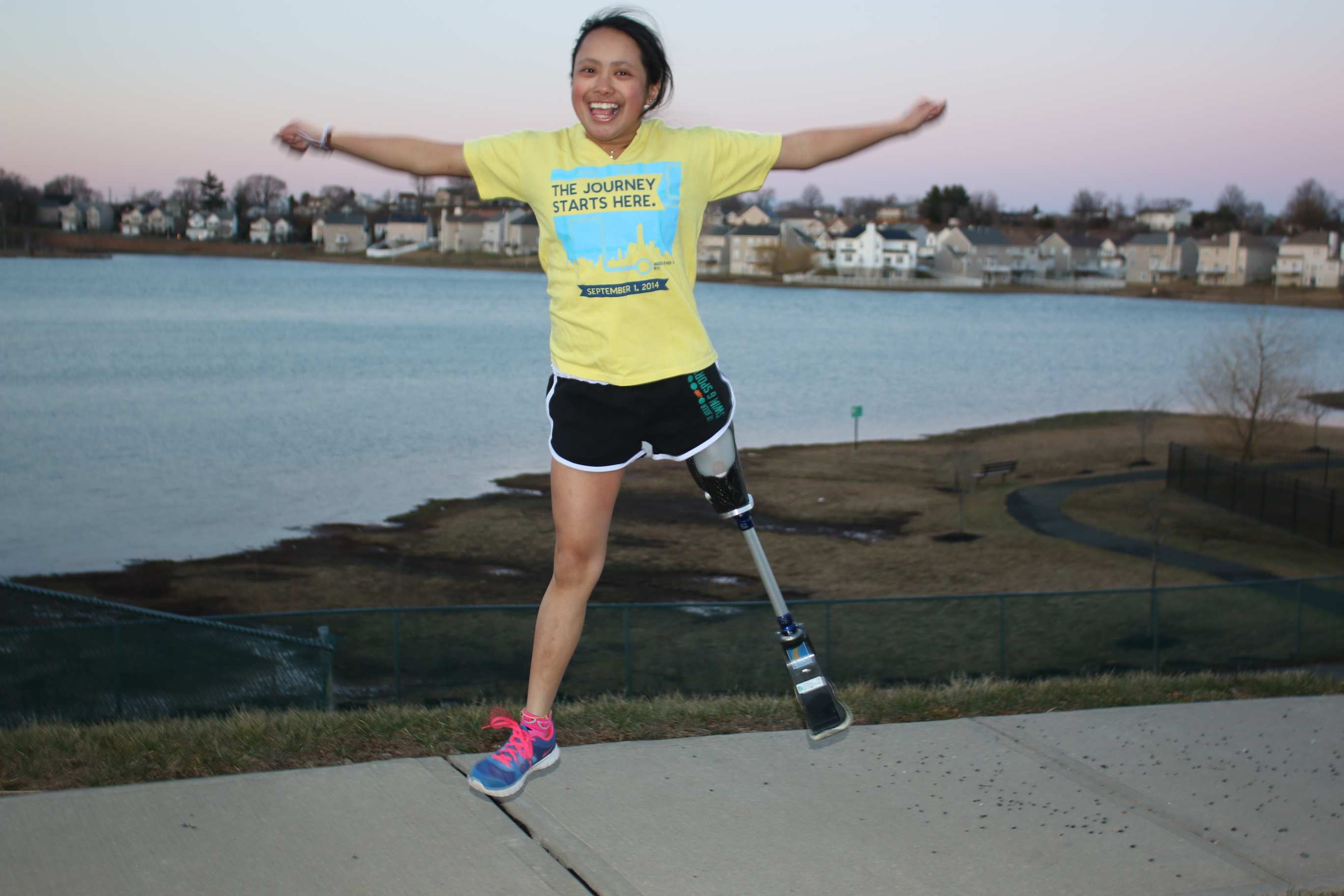 Kaela Cruz, osteoscarcoma survivor and Alex's Lemonade Stand Hero Ambassador