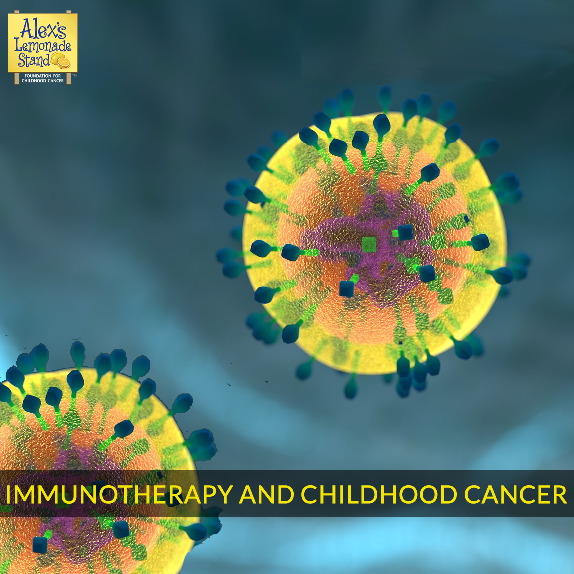 Immunotherapy offers hope in the fight against childhood cancer. Read more about immunotherapy childhood cancer research