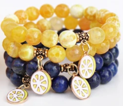 Oriana Lamarca - Alex's Lemonade Lapis with Lemon Pendant