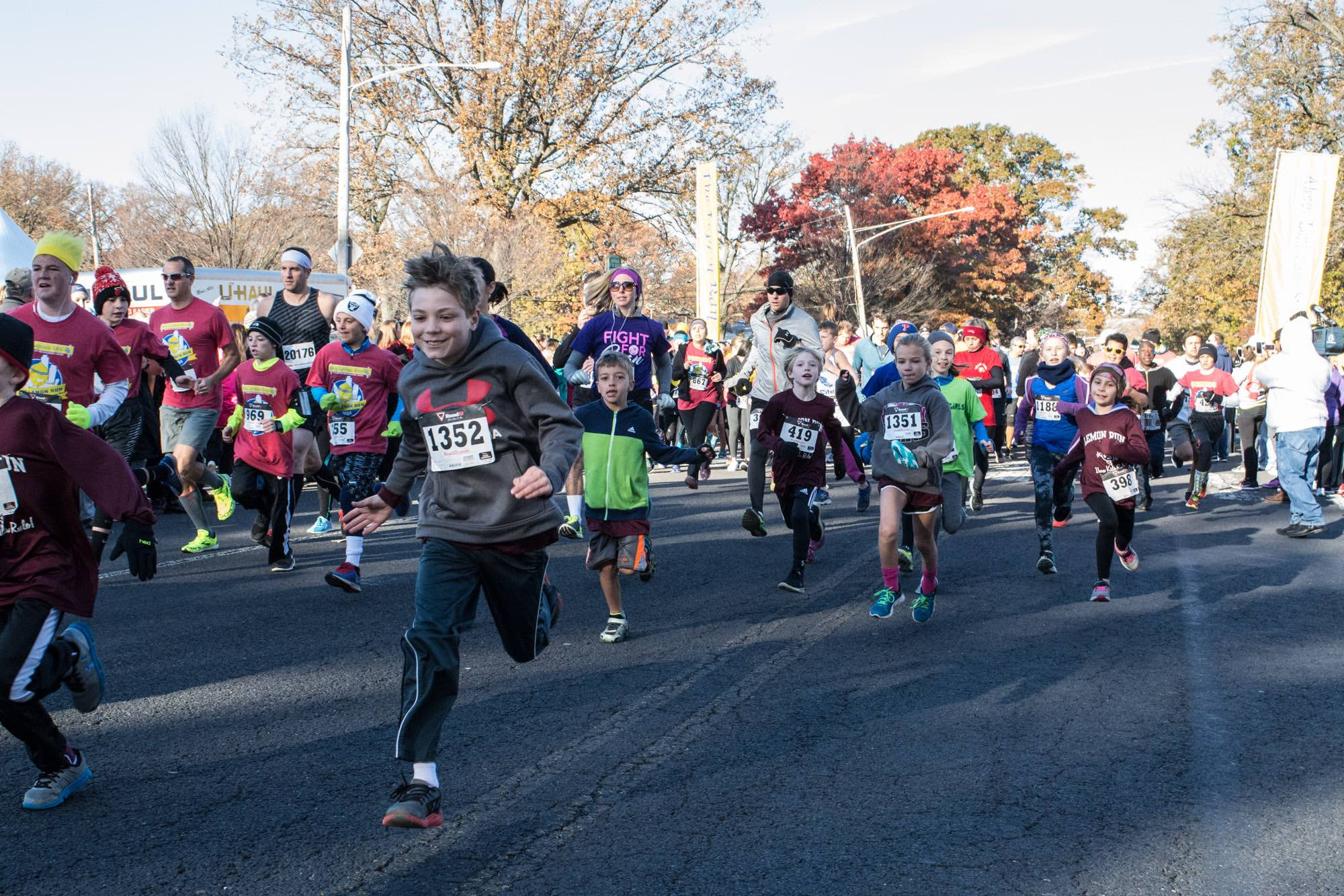 Hosting a 5k for childhood cancer research is a fun and easy way to help children battling cancer!