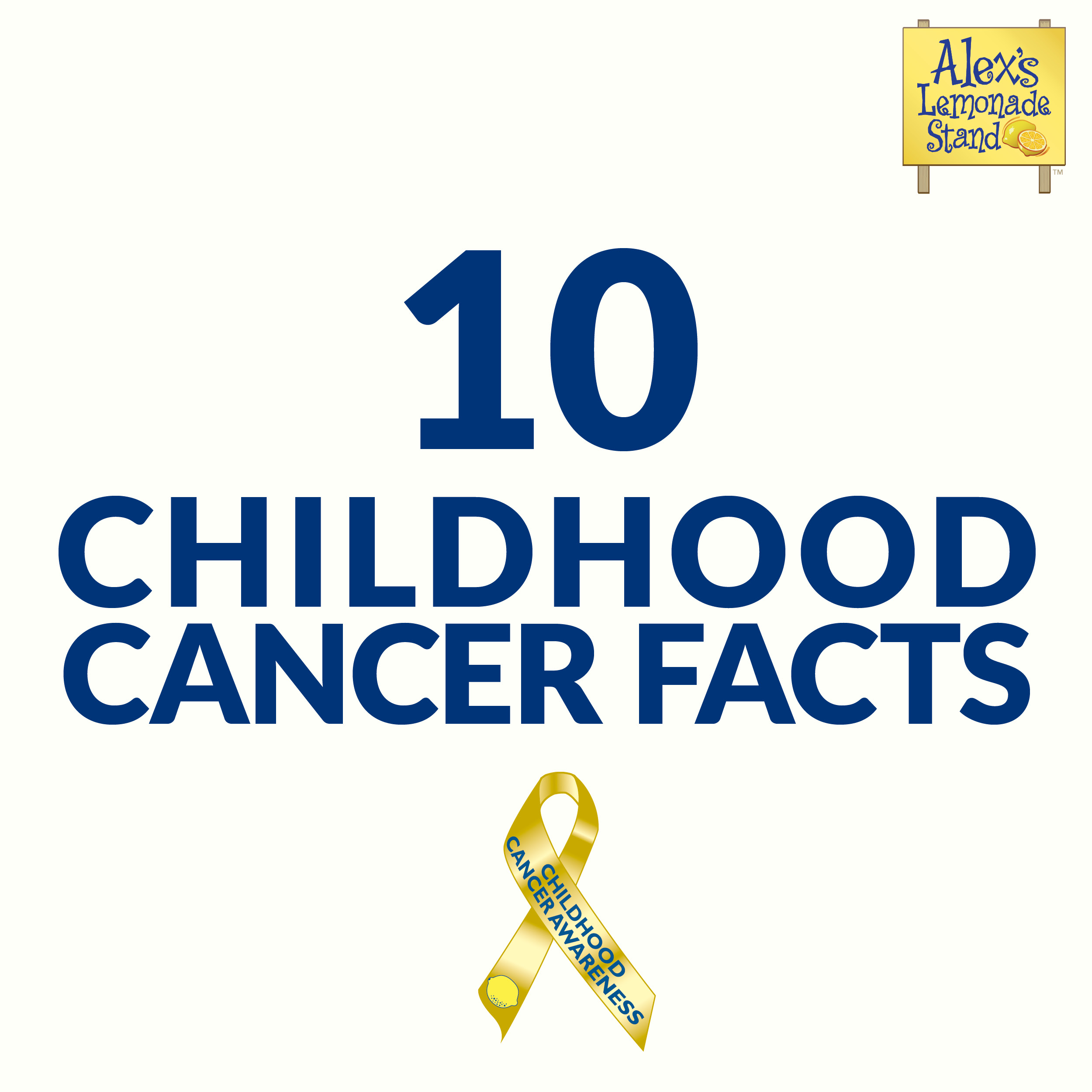 10 Fast Facts For Childhood Cancer Awareness Facts You Need To Know