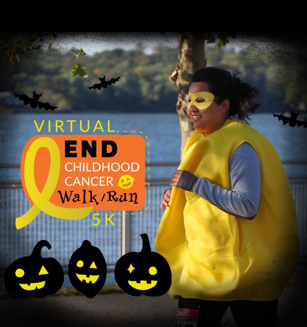 Virtual End Childhood Cancer 5K - Halloween Edition
