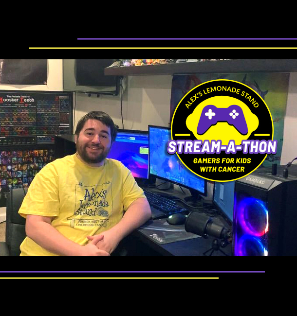 Gamers for Kids with Cancer Stream-a-thon