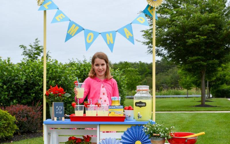 The team at A.C. Moore has the sweetest ideas for your DIY Lemonade Stand!