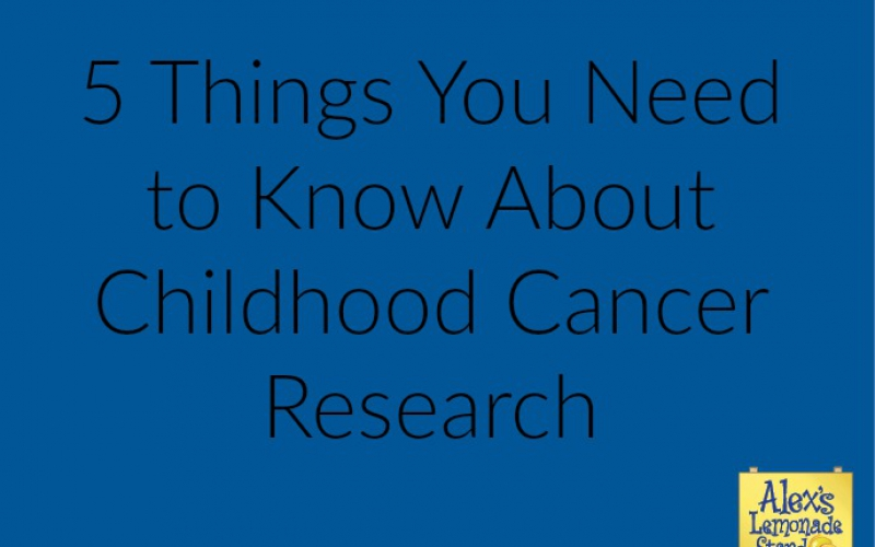 5 things you need to know about childhood cancer research