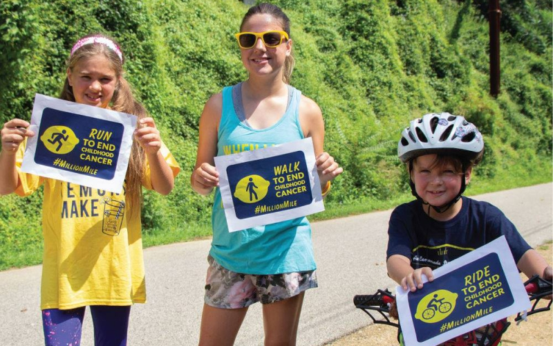 Receive pledges and log your distance onto your fundraising page. Our presenting sponsor, Volvo Car USA, will donate $10 for every team member that signs up through August 31, so register today! Sign up to run, walk or ride for The Million Mile this September.