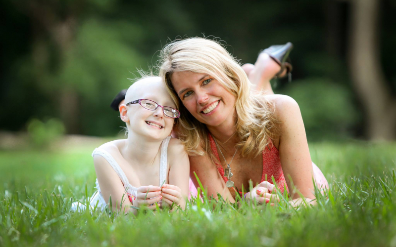 Amy Mulford, mom to childhood cancer hero Brooke
