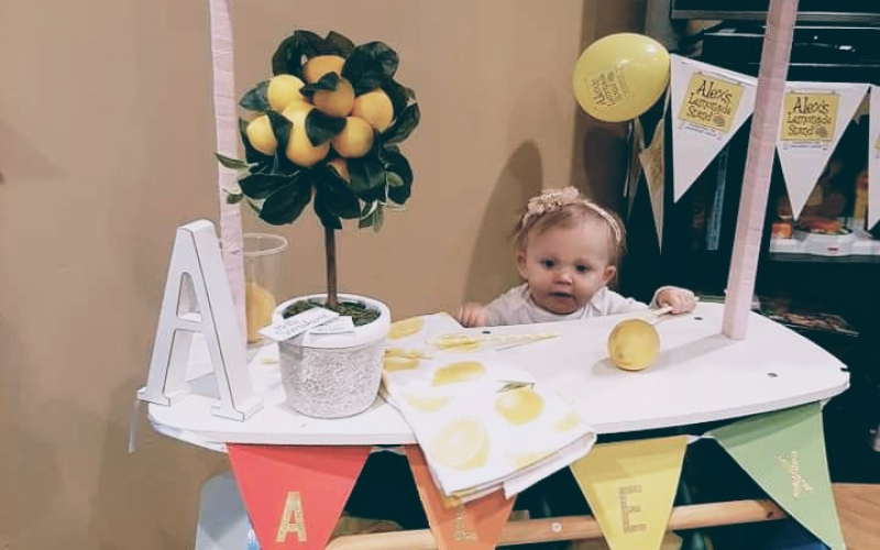 Named after Alex Scott, Alex Dixon, pictured above, celebrated her 1st birthday and supported ALSF. Her father Paul shared his love of ALSF on social media to raise funds and awareness for the Foundation.