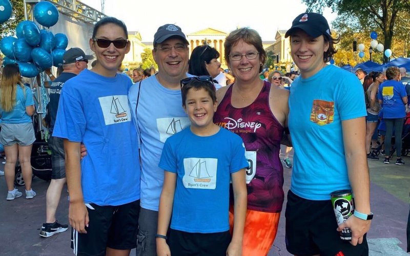 Trish Cartafalsa, mom to childhood cancer hero Ryan and SuperSibs Emily and Meghan