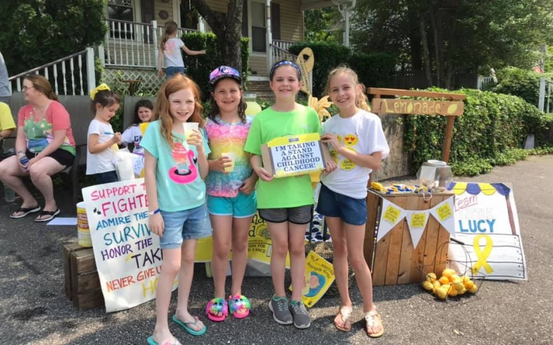 Childhood cancer research is made possible through the work of ALSF supporters and donors who have turned cups of lemonade into nearly 1,000 research grants.