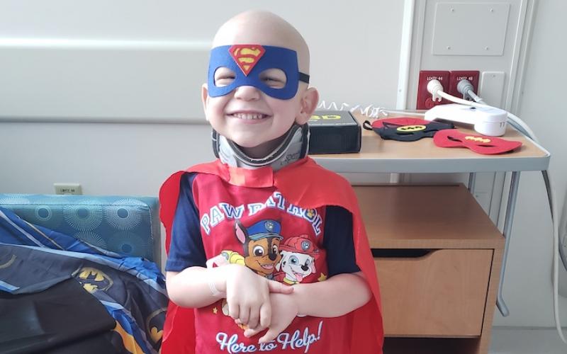 jacob childhood cancer hero