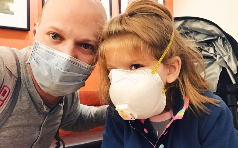 """""""Their support helped keep our family going,"""" said Jessica Malicki. ALSF has helped nearly 700 families in the midst of childhood cancer treatment during the COVID-19 pandemic."""