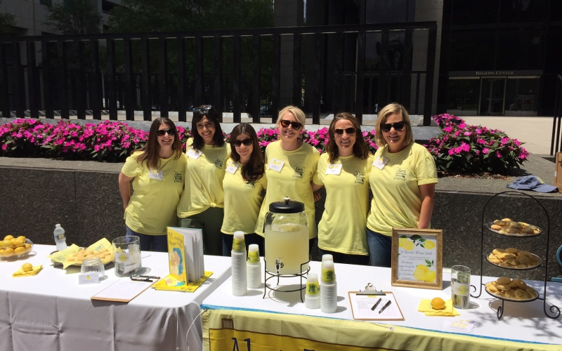 """Hosting a lemonade stand can be as easy as popping up a stand in your front yard or as extraordinary as creating a large community event!  This year, ALSF picked some """"All-Star"""" Lemonade Days stand hosts that raised $2,000 last year —just like our founder Alex Scott did in 2000 at her first lemonade stand. Wondering how they did it? Keep reading!"""