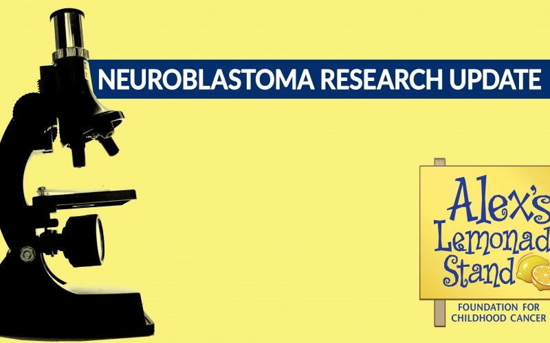 Neuroblastoma, the type of cancer our founder Alex Scott battled, is the most-common extra-cranial solid tumor in childhood.  Alex's Lemonade Stand Foundation (ALSF) has helped power research that is getting us closer to cures every day.