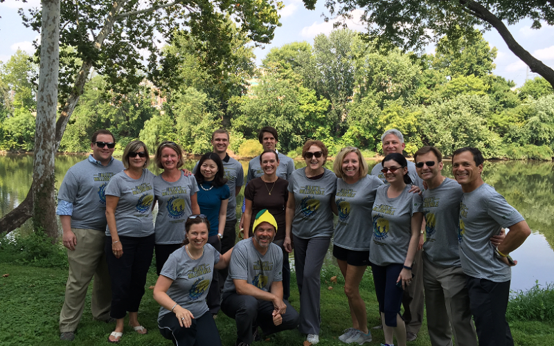 For past six years, Sage Financial Group's 28 employees have embraced The Million Mile and made it their own. Last year, they proudly finished second on the campaign leaderboard!