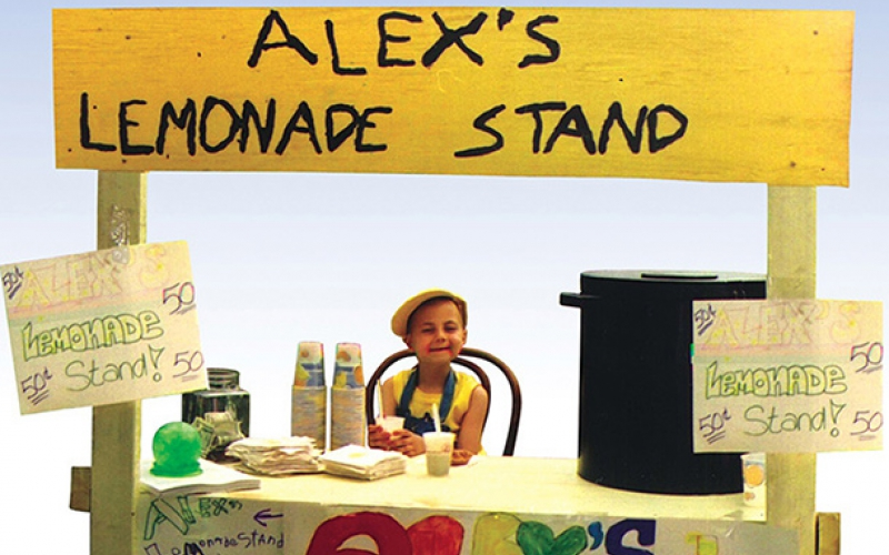 Learn the story behind the Alex's Lemonade Days and Alex's Original Stand for childhood cancer.
