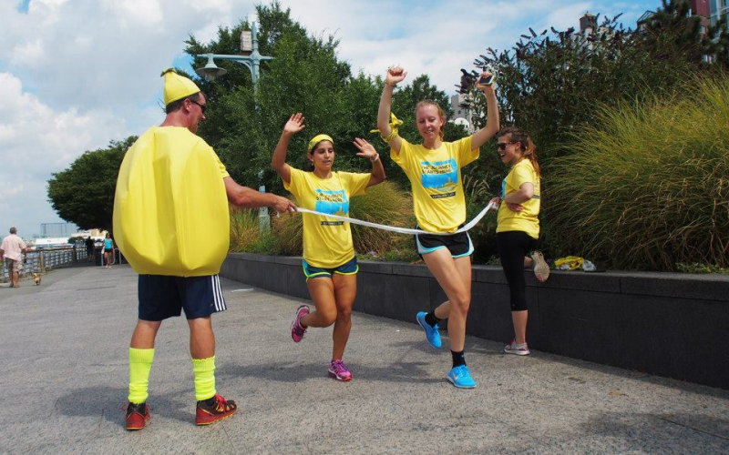 You can rack up the miles this September and together, we can find cures for childhood cancer!