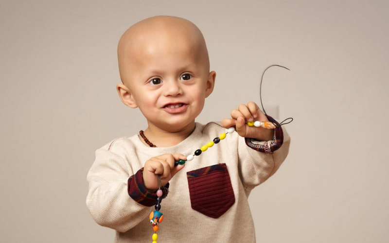 A month after his first birthday, Francisco was diagnosed with stage II embryonal rhabdomyosarcoma