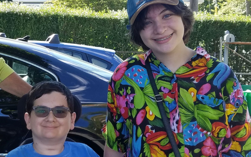 Tony was just 2 years old when he battled neuroblastoma with his infant sister by his side. Now Tony is 16 years old; his sister Samantha is 14 years old. Tony has battled cancer two more times — and Samantha, remains right alongside him for support.