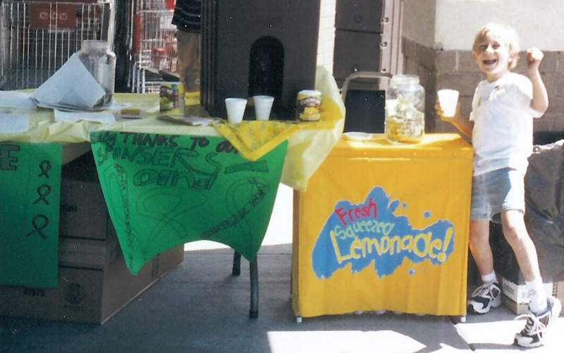 What started as one lemonade stand for the Mozer Family, turned into an empire of lemonade stands and gave birth to Midwest Lemonade Days.