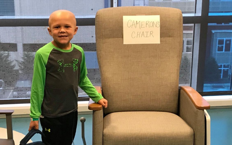 childhood cancer hero cam