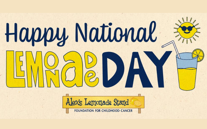 happy national lemonade day