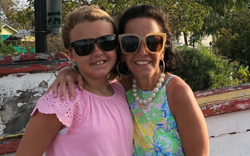 Emily Gigler, Mom to Edie (Childhood Cancer Hero) and Kinsey (SuperSib)