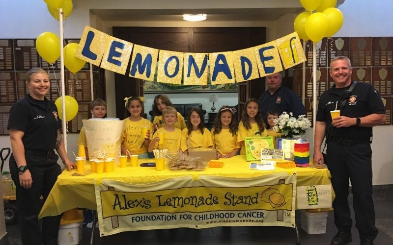 For the past three years, the summer math camp at Wyoming Seminary Lower School has incorporated a lemonade stand into their math lessons. The camp finishes the week with a lemonade stand and has raised over $1,300 so far.