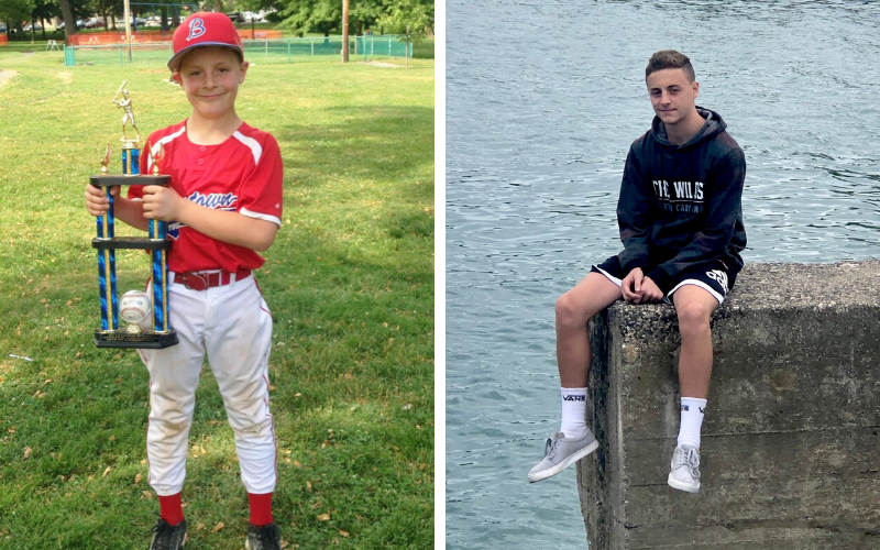 Zach was 5 years old when he battled a rare form of anaplastic large cell lymphoma. Zach is now 15 years old and cancer-free.