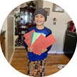 dj with his cards