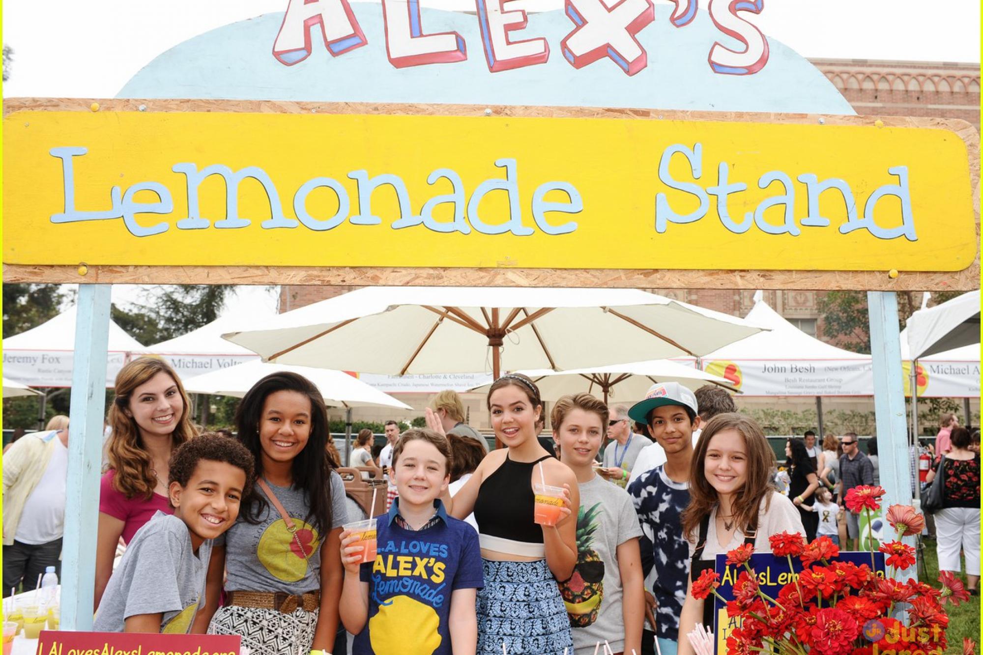 La Loves Alexs Lemonade Alexs Lemonade Stand Foundation For
