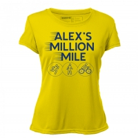 Yellow Ladies AMM Performance Shirt