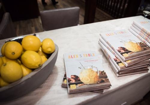 Alex's Table: NYC Dinner