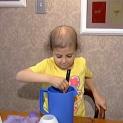 Alex's Lemonade Stand Foundation founder Alex Scott makes lemonade.